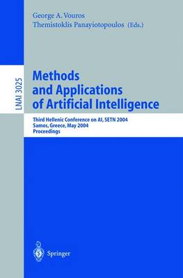 Methods and Applications of Artificial Intelligence: Third Helenic Conference on AI, SETN 2004, Samos, Greece, May 5-8, 2004, Proceedings