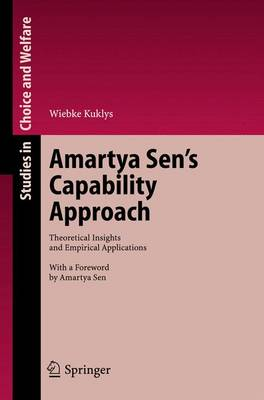 Amartya Sen's Capability Approach: Theoretical Insights and Empirical Applications