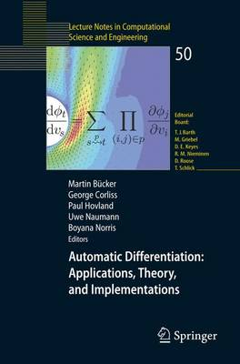 Automatic Differentiation: Applications, Theory, and Implementations