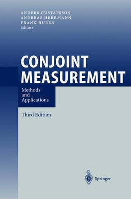 Conjoint Measurement: Methods and Applications