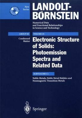 Noble Metals, Noble Metal Halides and Nonmagnetic Transition Metals