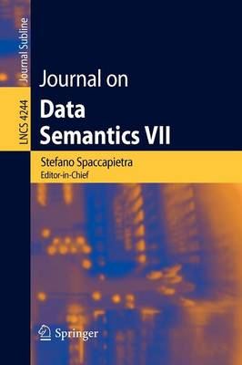 Journal on Data Semantics VII