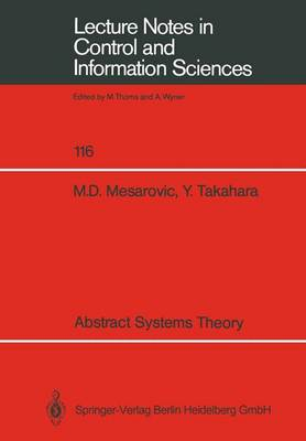 Abstract Systems Theory