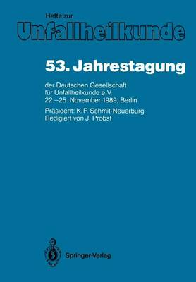 53 Jahrestagung: Papers and Abstracts