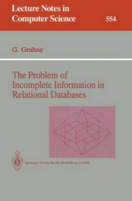 The Problem of Incomplete Information in Relational Databases