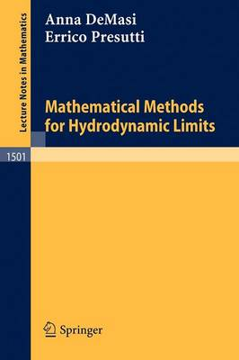 Mathematical Methods for Hydrodynamic Limits