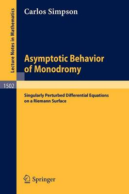 Asymptotic Behavior of Monodromy: Singularly Perturbed Differential Equations on a Riemann Surface