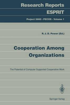 Cooperation Among Organizations: The Potential of Computer Supported Cooperative Work