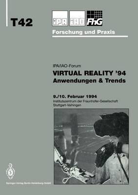 Virtual Reality '94: Anwendungen & Trends