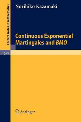 Continuous Exponential Martingales and BMO
