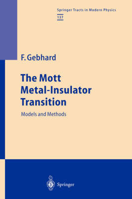 The Mott Metal-Insulator Transition: Models and Methods