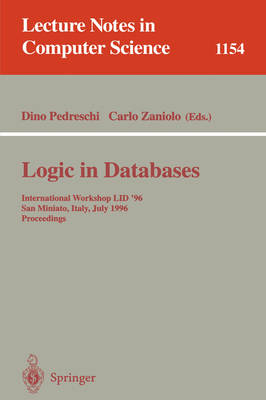 Logic in Databases: International Workshop LID '96, San Miniato, Italy, July 1 - 2, 1996. Proceedings