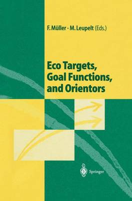 Eco Targets, Goal Functions, and Orientors