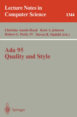 Ada 95, Quality and Style: Guidelines for Professional Programmers