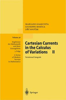 Cartesian Currents in the Calculus of Variations II: Variational Integrals