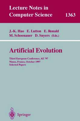Artificial Evolution: Third European Conference, AE '97, Nimes, France, October 22-24, 1997, Selected Papers