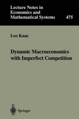 Dynamic Macroeconomics with Imperfect Competition