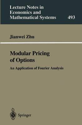 Modular Pricing of Options: An Application of Fourier Analysis