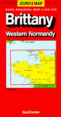 France Map: Sheet 2: Brittany/Normandy West
