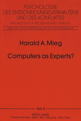 Computers as Experts?: On the Nonexistence of Expert Systems: Introduction