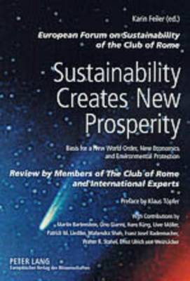 Sustainability Creates New Prosperity: Basis for a New World Order, New Economics and Environmental Protection: 2004