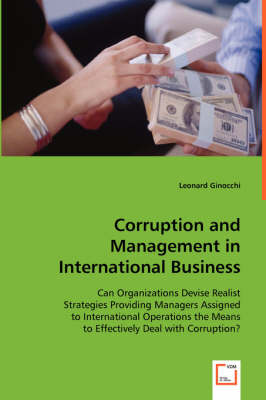 Corruption and Management in International Business