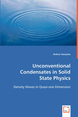 Unconventional Condensates in Solid State Physics