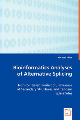 Bioinformatics Analyses of Alternative Splicing