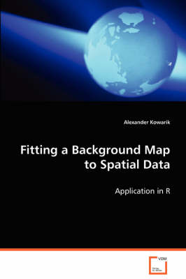 Fitting a Background Map to Spatial Data