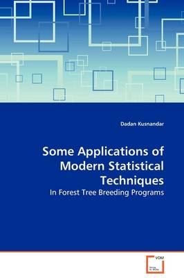 Some Applications of Modern Statistical Techniques