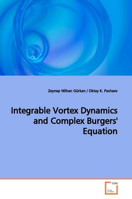 Integrable Vortex Dynamics and Complex Burgers' Equation