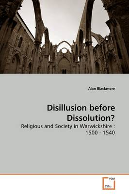 Disillusion Before Dissolution?