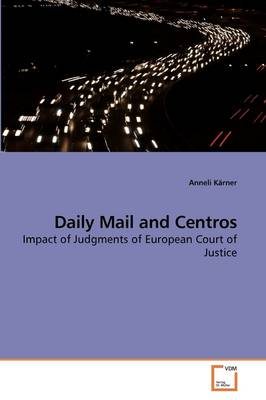 Daily Mail and Centros