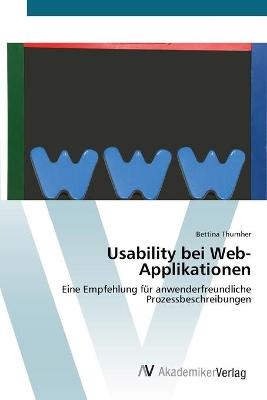 Usability Bei Web-Applikationen