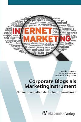 Corporate Blogs ALS Marketinginstrument