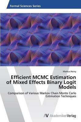 Efficient MCMC Estimation of Mixed Effects Binary Logit Models