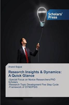 Research Insights & Dynamics : A Quick Glance