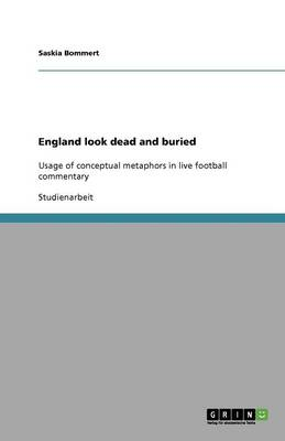 England Look Dead and Buried