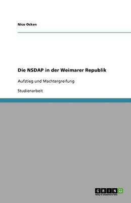 Die Nsdap in Der Weimarer Republik