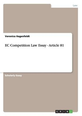EC Competition Law Essay - Article 81