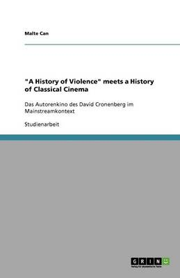 A History of Violence Meets a History of Classical Cinema