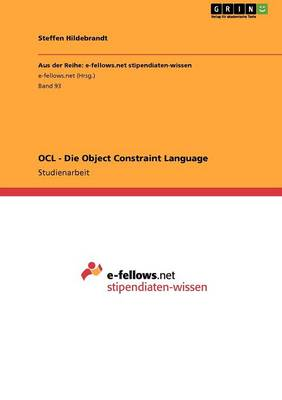 Ocl - Die Object Constraint Language