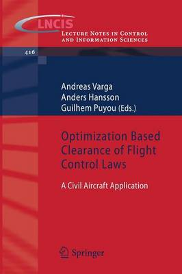Optimization Based Clearance of Flight Control Laws: A Civil Aircraft Application