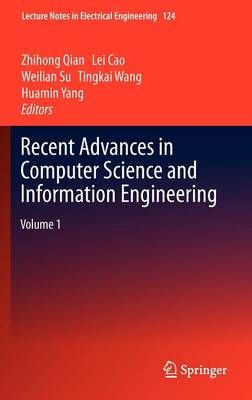 Recent Advances in Computer Science and Information Engineering: Volume 1