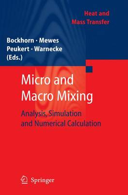 Micro and Macro Mixing: Analysis, Simulation and Numerical Calculation