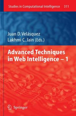 Advanced Techniques in Web Intelligence -1