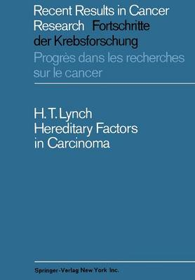 Hereditary Factors in Carcinoma