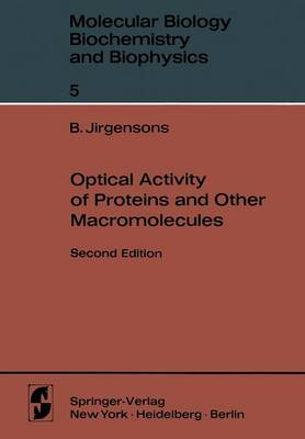 Optical Activity of Proteins and Other Macromolecules