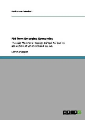 FDI from Emerging Economies