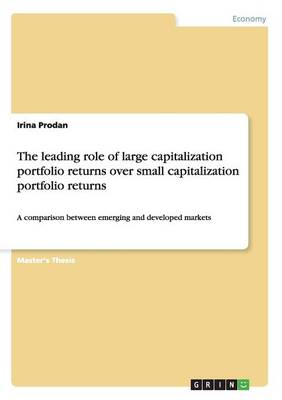 The Leading Role of Large Capitalization Portfolio Returns Over Small Capitalization Portfolio Returns